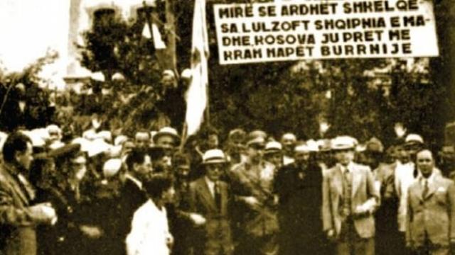 Mustafa Kruja ne Kosove