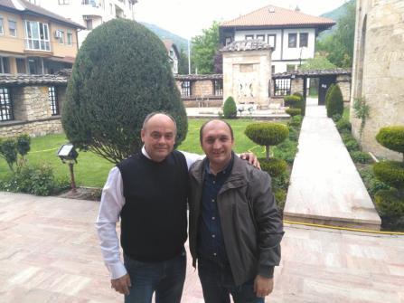Arben Llalla me Tayfun Kaçan në Tetovë