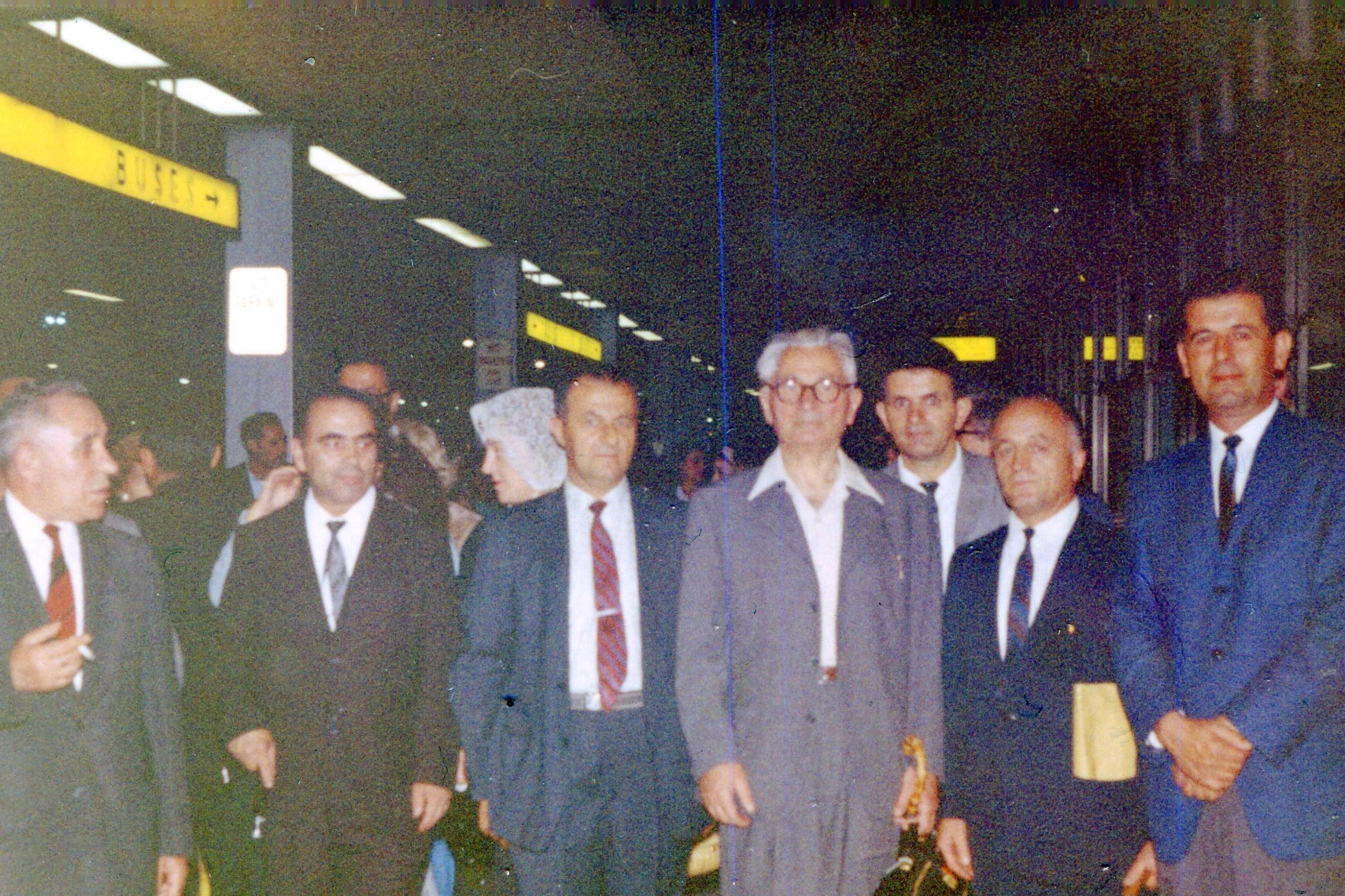 Ali Këlcyra në Romë