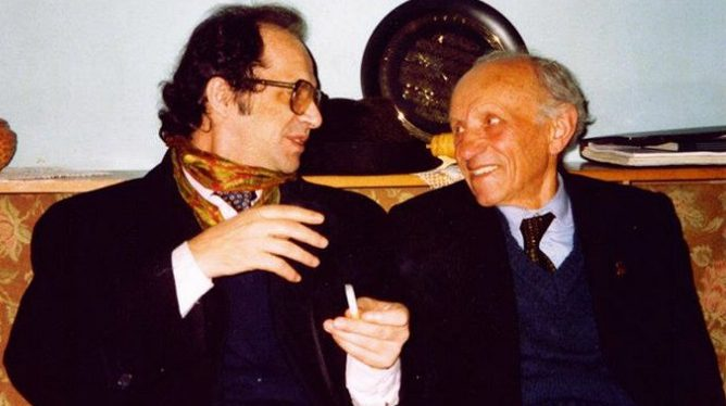 Dr. Ibrahim Rugova dhe Osman Kazazi