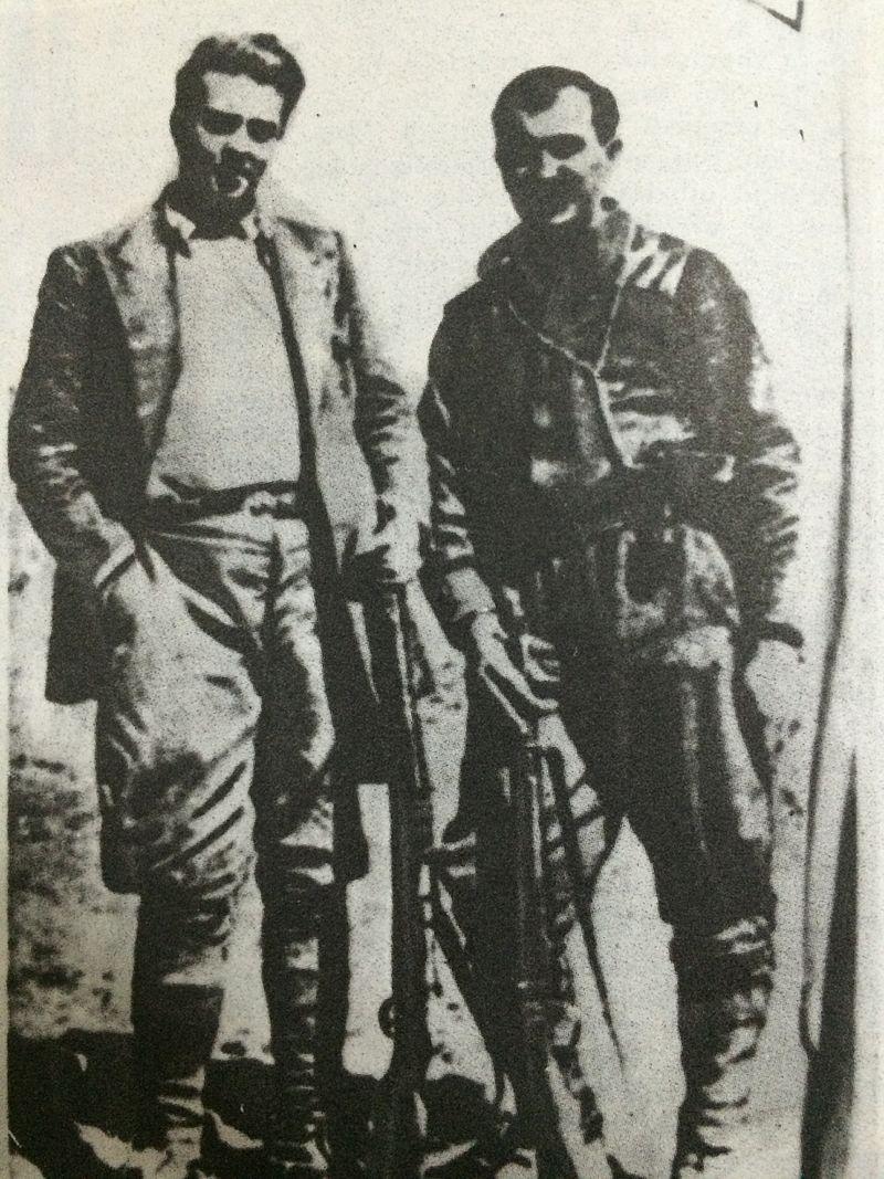 Enver Hoxha dhe terroristi serb Vasil Shantiq